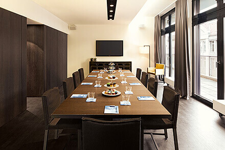 Privater Business Raum In Berlin Mitte AMANO Rooftop Conference Magnificent Restaurant Dining Room Design