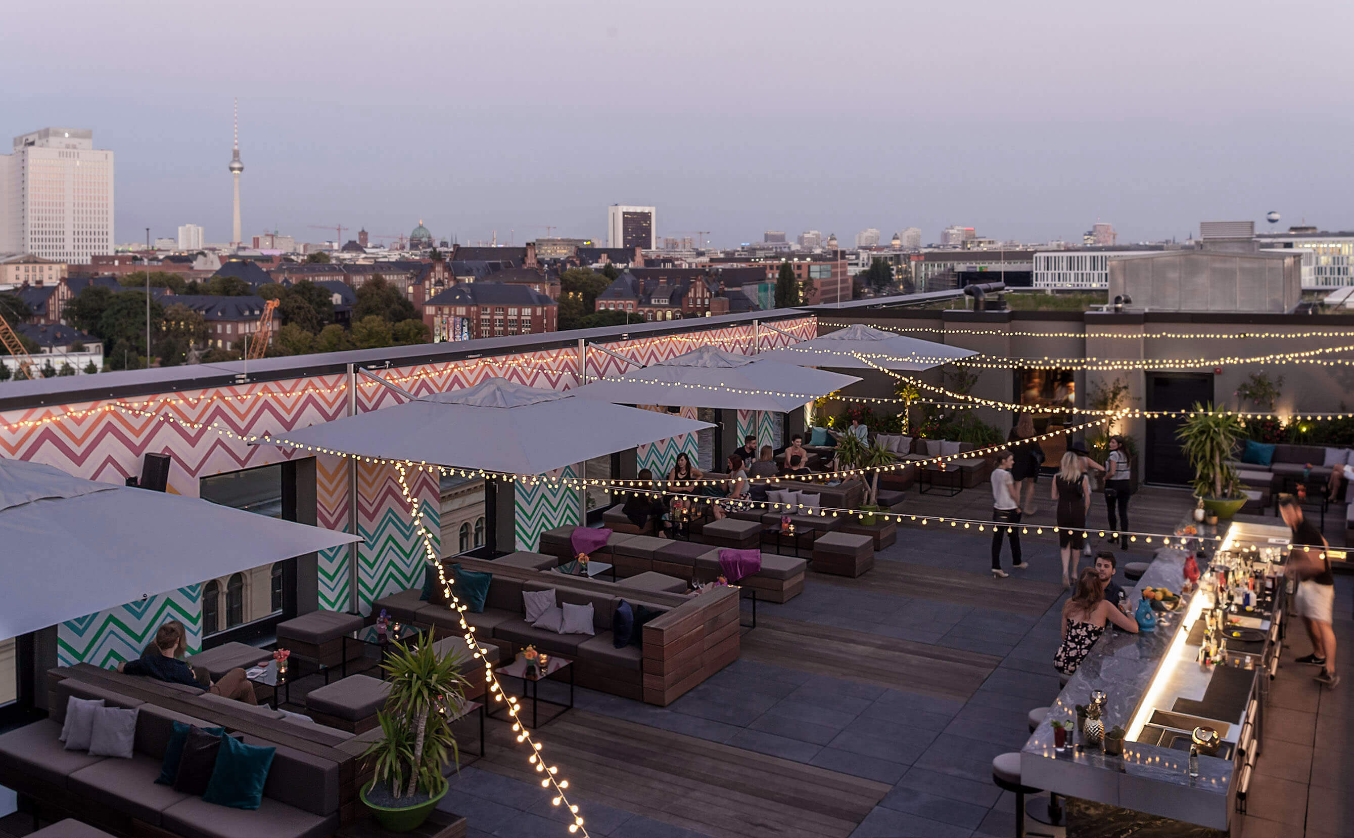 Rooftop Bar Near Berlin Central Station Amano Grand Central