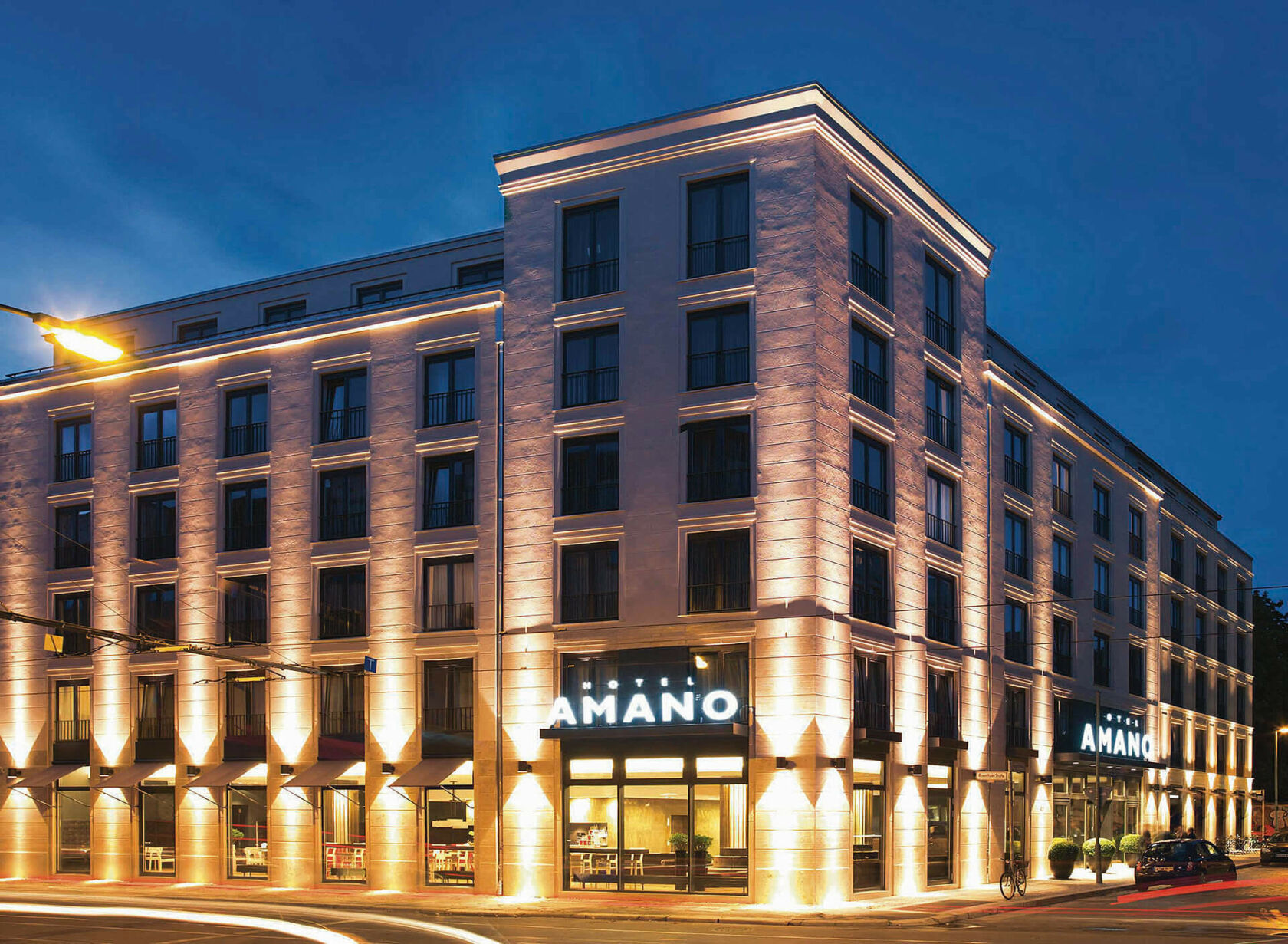 amano group - Hotel