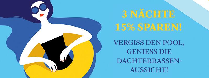SUMMERLOVE Special in Berlin und Düsseldorf: 3 Nächte buchen & 15% sparen - nutzen Sie den Frühbuchervorteil!